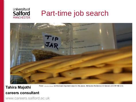 part time search presentation