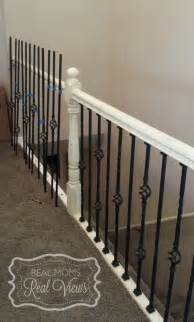 Stair Spindle Installation by 25 Best Ideas About Iron Balusters On Pinterest Iron