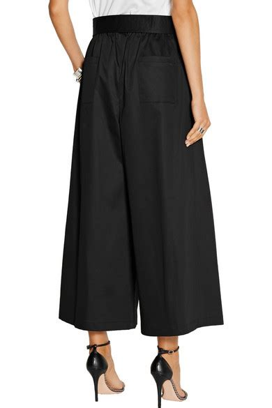 culottes tome 1 2070601382 tome belted stretch cotton sateen culottes net a porter com