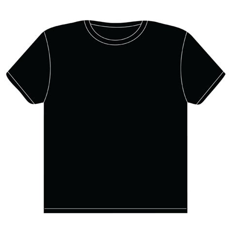 t shirt design black clipart best