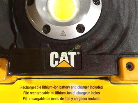cat rechargeable led work light costco costco 962841 cat led worklight rechargeable part3