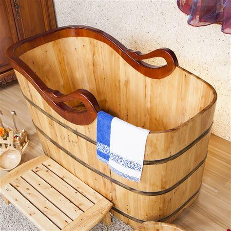 idromassaggio portatile per vasca da bagno di legno portatile 2 persone spa vasca idromassaggio