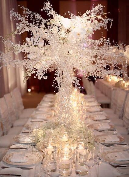 Winter Wedding Centerpiece Ideas by Adorable Winter Snow Wedding Ideas Tulle Chantilly