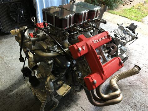 maserati merak engine the mazzy engine returns bridge classic cars