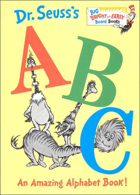 s abc books dr seuss s abc an amazing alphabet book board book