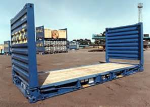Ft Storage Container - fl flat rack containers miami fl cargo containers iso