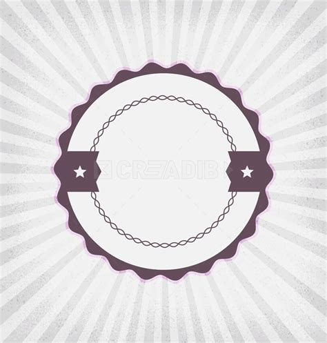 Round Label Design Templates vintage label template creadib