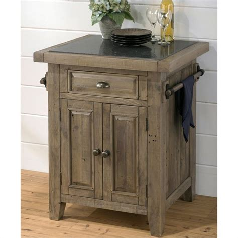 kitchen islands granite top jofran 941 small kitchen island with granite top in slater mill pine 941 86