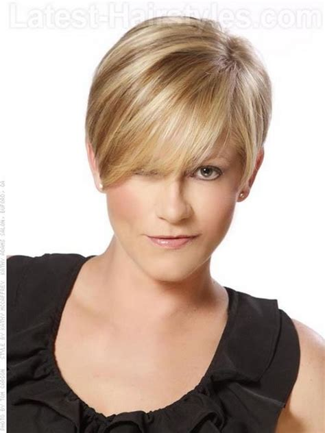 very short haircuts that lay flat to the head short feminine hairstyles