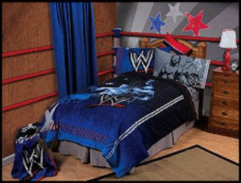 wwe bedding and curtains wwe bedroom on pinterest boy girl bedroom woodworking