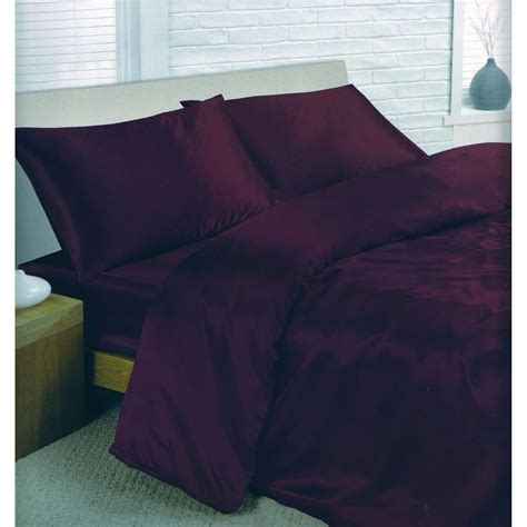 Fitting A Duvet Cover Charisma Satin Bedding Set Duvet Cover Fitted Sheet