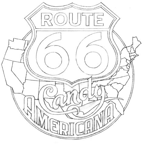 Route 66 Coloring Pages Inside Gas Station Coloring Pages by Route 66 Coloring Pages