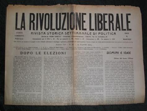 libreria francese torino la rivoluzione liberale 1922 1925 rivista storica
