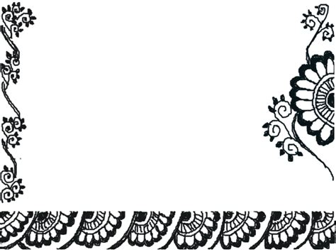 wallpaper border black and white flowers black and white borders clipartion com