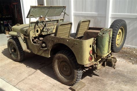1948 Jeep Willys Nathan S 1948 Willys M38 Find