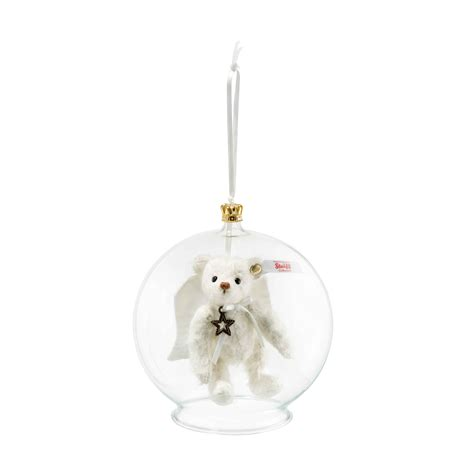 steiff gabriel teddy bear in bauble ornament teddy bears