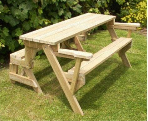 bench that folds into a picnic table plans for a bench that folds into a picnic table in pdf