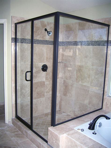 Custom Shower Doors Mirrors The Glass Shop Custom Shower Doors