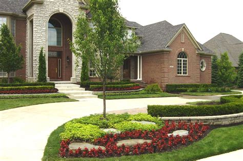 home landscape design front yard landscape design ideas pictures home hill