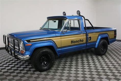 jeep j10 honcho 1978 jeep j10 honcho gladiator restored na prodej