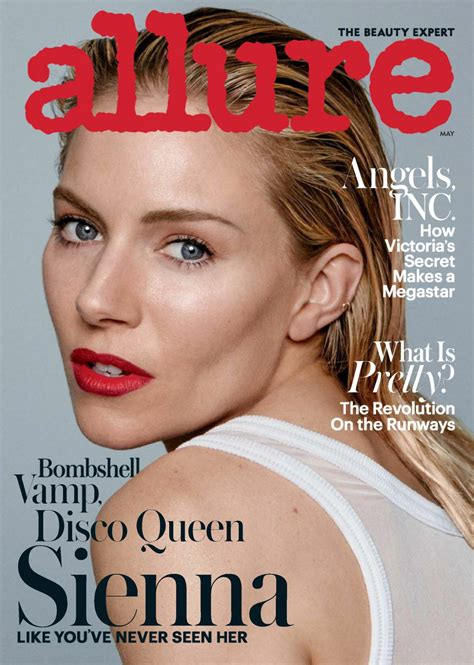 magazine may 2017 sienna miller allure magazine may 2017 issue