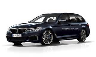 2017 bmw 5 series touring accurately rendered as the m550i