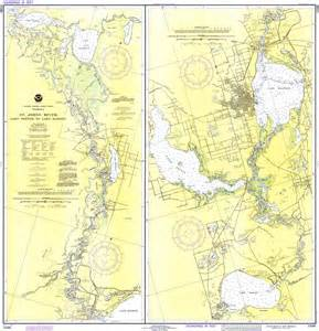 st johns river in florida map st johns river lake to lake harney 1979