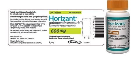 Gabapentin Enacarbil Also Search For Horizant 600 Mg Reviews A Highly Effective Treatment For Rls With Severe Side Effects