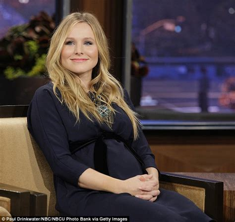 ceggio prenatal kristen bell looks simply glowing for an