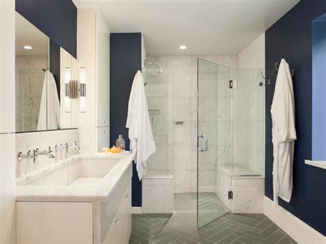 Modern Bathroom Looks Indigo Color Palette Indigo Color Schemes Hgtv