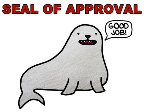 Seal Of Approval Meme - testimonial legacy law center was so helpful with the
