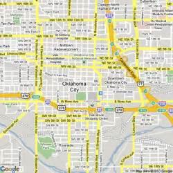 oklahoma city us map map of oklahoma city united states hotels accommodation