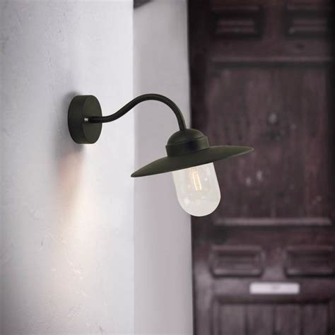 outdoor wall lights black nordlux luxembourg outdoor wall light black