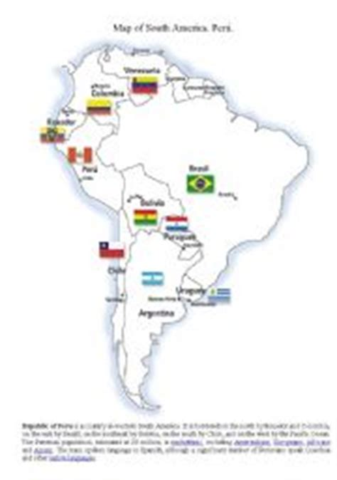south america map and review worksheet answers teaching worksheets landforms esl printables