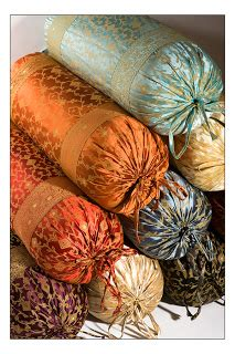 Nzz Swiby Pashmina monsoon craft indian bolster pillow covers
