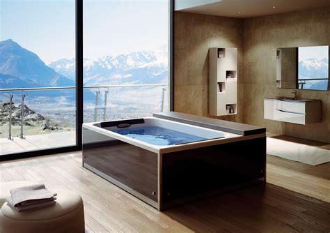 baignoire spa magic spa 200x160 cm 2 places kinedo kinedo baignoire