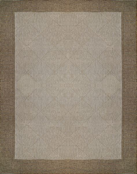 5x7 Sisal Rug by Sisal Style Area Rugs Brown Border Frame Chestnut Indoor