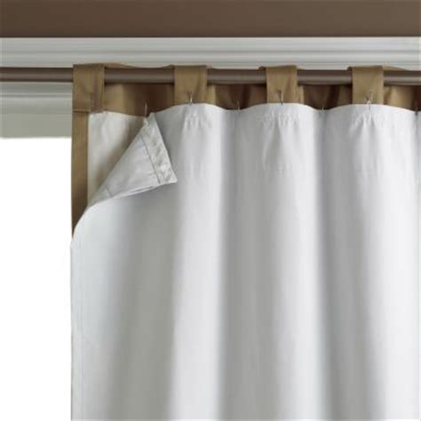 window curtain liners blackout liner curtain panel pair found at jcpenney 42