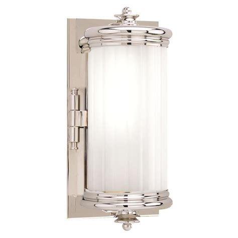 Polished Nickel Bathroom Lights Bristol Polished Nickel Bathroom Light Vertical Mounting Only 951 Pn Destination Lighting