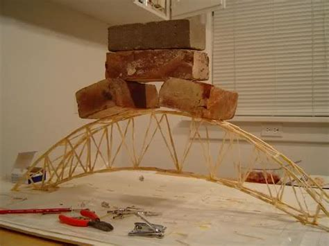 How To Make A Strong Paper Bridge - how to build a toothpick bridge science project ideas