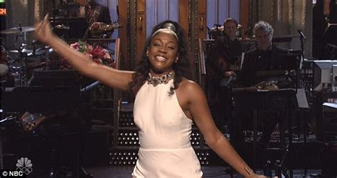 Is Ready To Talk Yall by Snl Haddish Blasts Louis Ck In Opening Monologue