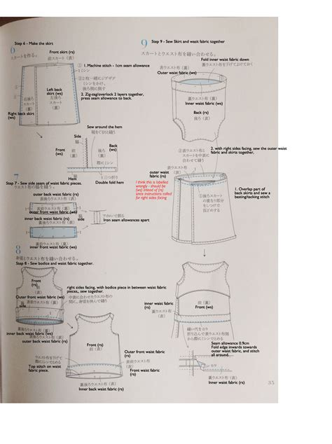 japanese pattern translation translation request for eka japanese sewing pattern