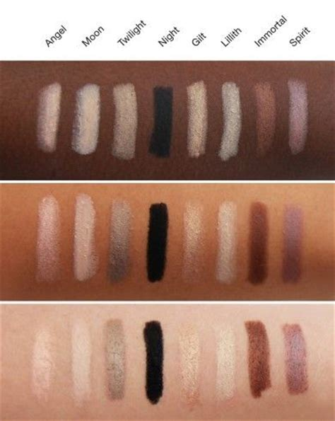 magnetic eye color nudestix magnetic eye color pencils swatches