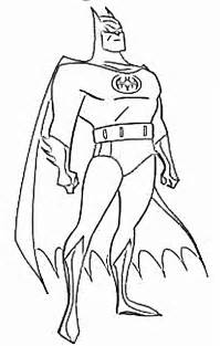 ciudades batman colouring pages