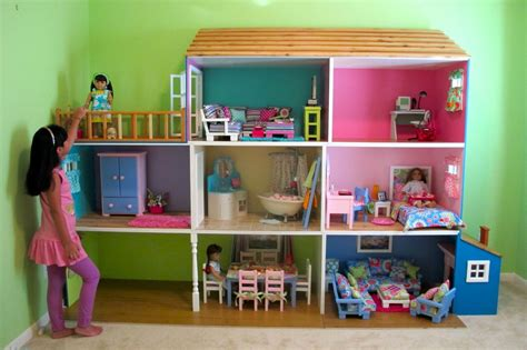 18 inch doll house plans american doll house clotheshops us