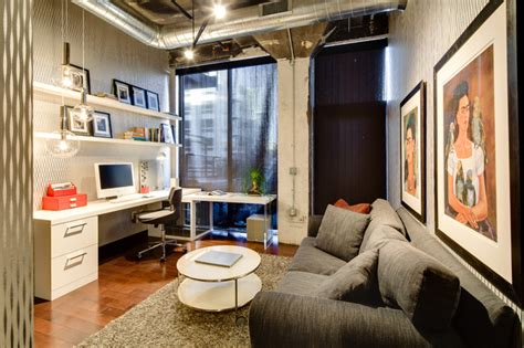 Home Office Design Minneapolis Dwelling Designs Warehouse District Loft Industrial