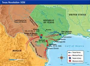 revolution map 1836 revolution 1836