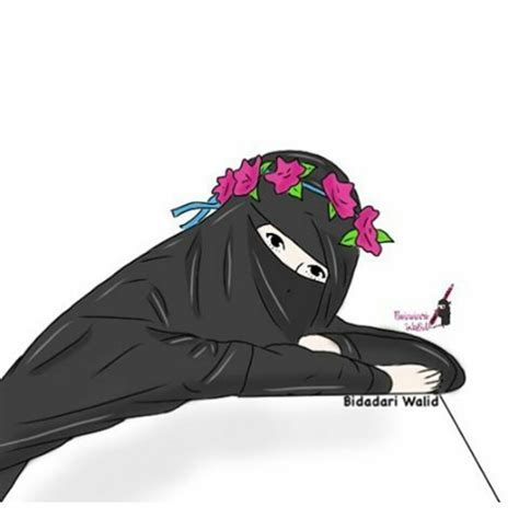 Gambar Hijab Kartun Berkacamata Gambar Kartun Muslimah Cantik