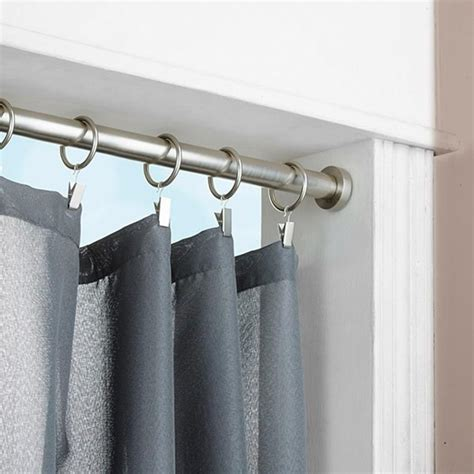 installation of curtain rods how to install curtain tension rods curtain menzilperde net