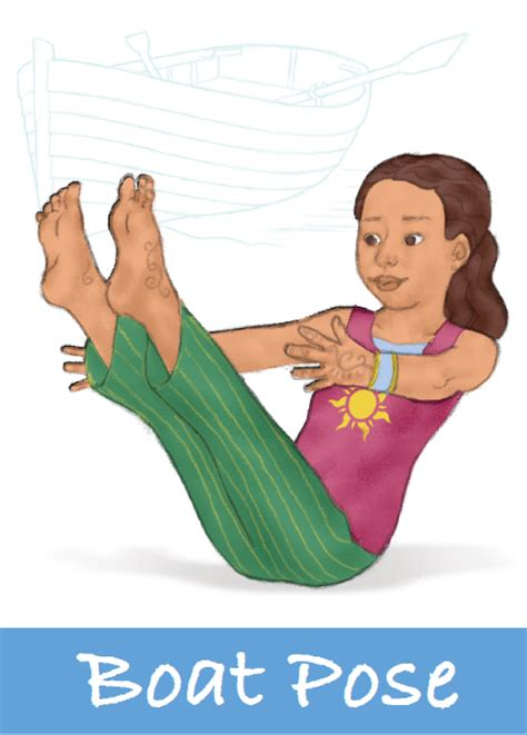 boat pose how long transportation activities for kids yoga kids yoga